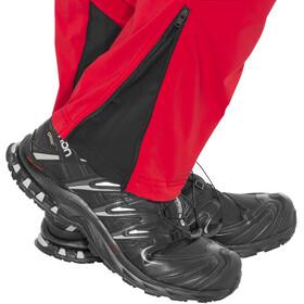 Directalpine Cascade Light 2.0 - Pantalones Hombre - rojo/negro